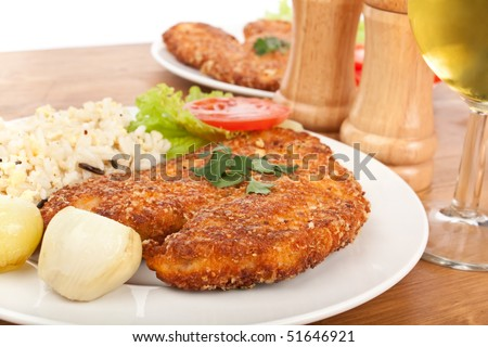 Chicken Parmesan - stock photo