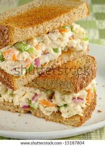 Chicken Salad Sandwich - stock photo