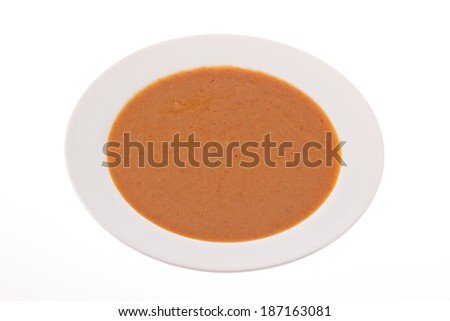 Chicken satay. - stock photo
