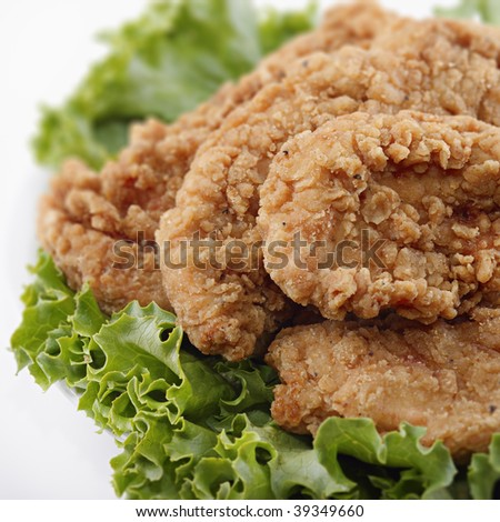 Chicken Tenders - stock photo