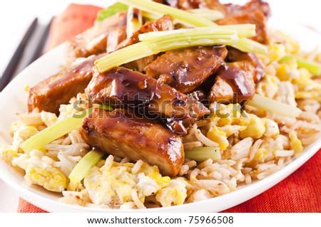 Chicken Teriyaki - stock photo