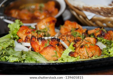 Chicken Tikka Close Up