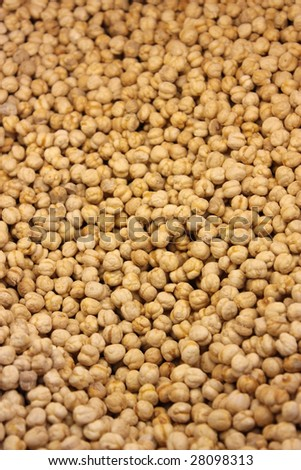 Chickpea Background - stock photo