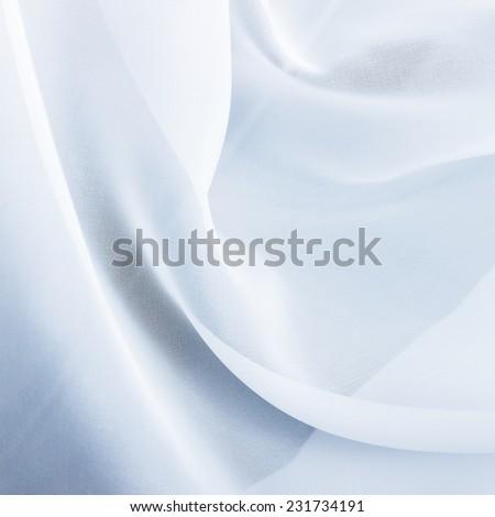 Chiffon textile texture - stock photo