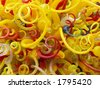 Chihuly exhibit at New York Botanical Garden - stock photo