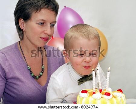 Child birthday - stock photo
