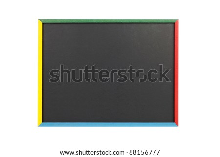 child blackboard - stock photo