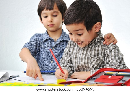 Child business - stock photo