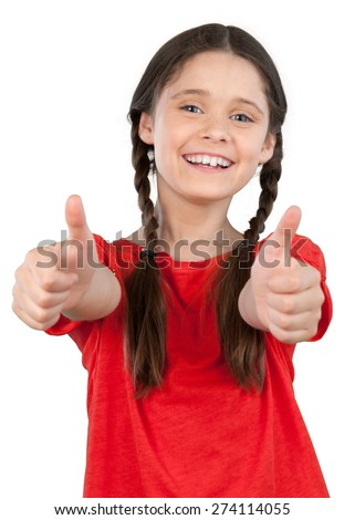 Child, Cheerful, Smiling. - stock photo