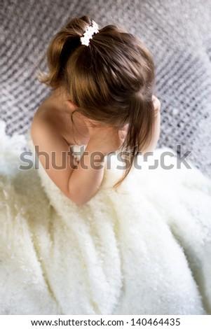 Child  Crying - stock photo