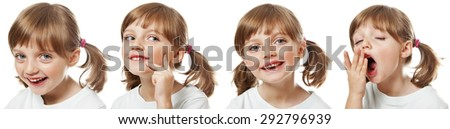 child emotion  - stock photo