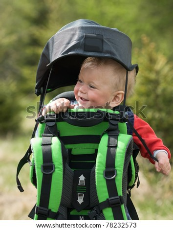 Child in Baby Hiking