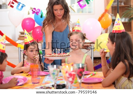 child party - stock photo