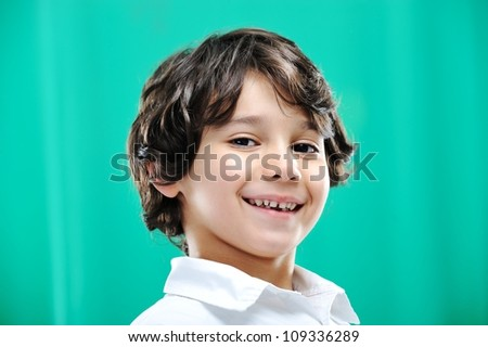 Child portrait - stock photo
