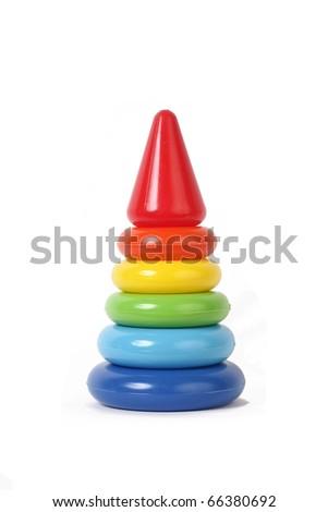 Child Pyramid - stock photo