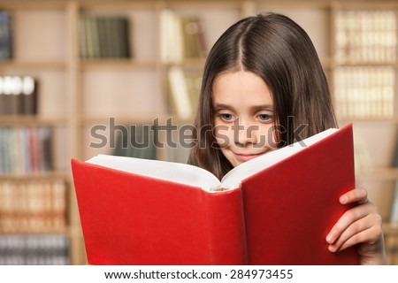 Child, Reading, Book.