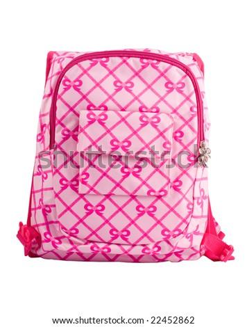 Child's  knapsack - stock photo
