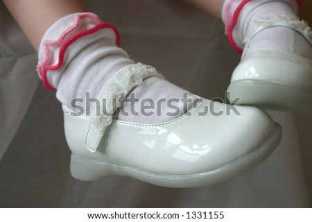 Child's Shoes - stock photo