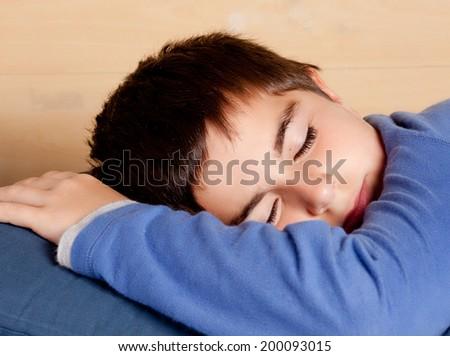 child sleeping - stock photo
