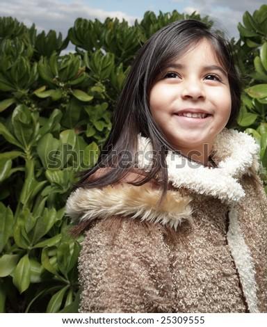 Child smiling - stock photo