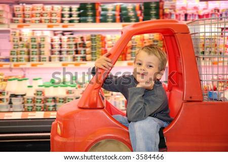 child store - stock photo