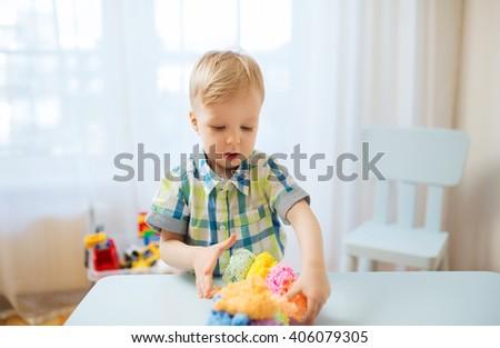 Asian Kid Playing Xylophone