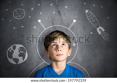 Childhood Dreams - stock photo