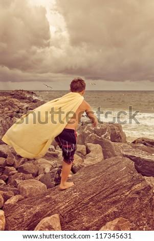 Childhood Fantasy - stock photo