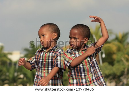 Childish Behavior - stock photo