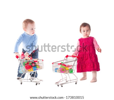 Children and shopping