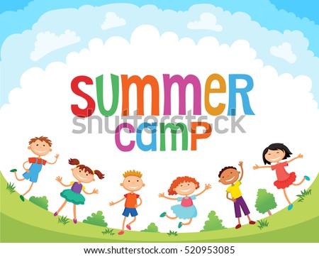 summer camp stock images royaltyfree images amp vectors