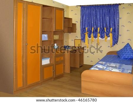 children bedroom - stock photo