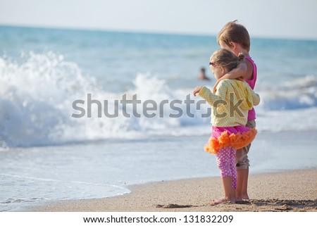Children of the Sea - stock photo