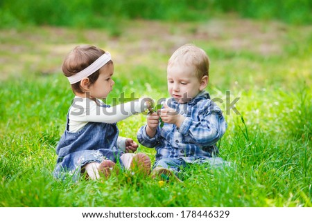 Children outdoor