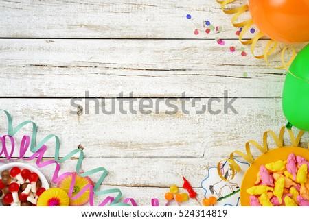 Children Party Living Backgroundgreeting Card