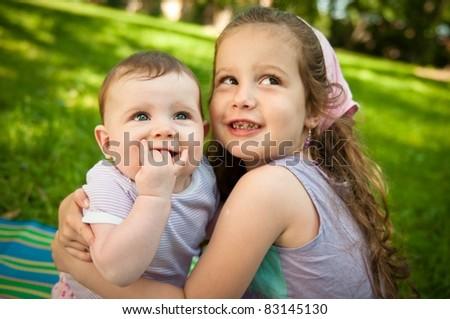Children portrait - stock photo