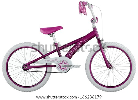 children's bicycle - stock photo