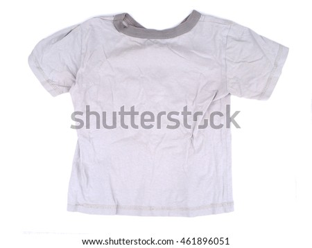 Children's T-shirt on a white background