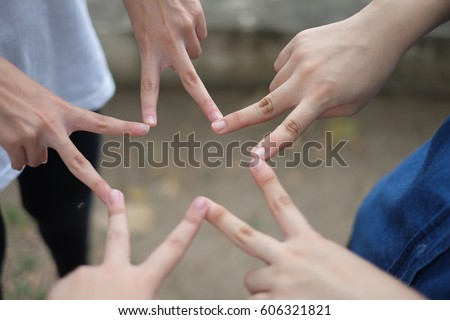 Hand Holding 2 Fingers