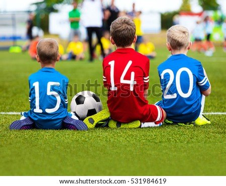 Kids Playing Football Stock Images, Royalty-Free Images ...