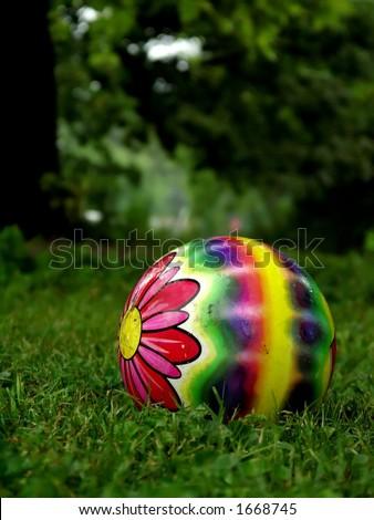 Childrens Ball - stock photo