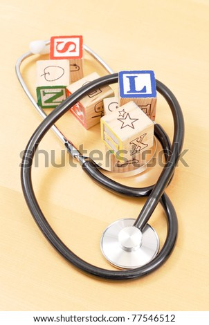 Childrens Healthcare Concept - stock photo