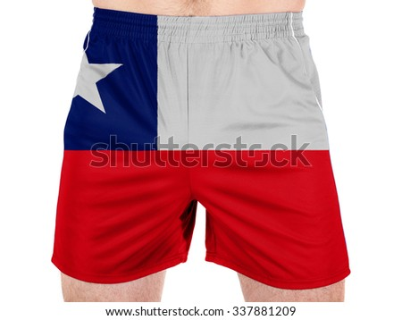 Chili. Chile flag  - stock photo