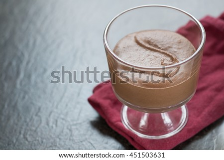Chill chocolate mouse