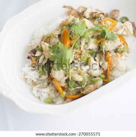 Chilli crab - stock photo