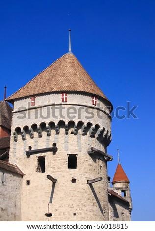 Chillon Castle, Switzerland - stock photo