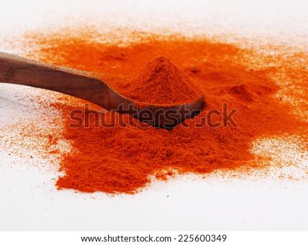 Chilly powder  - stock photo