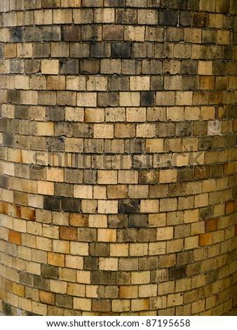 chimney bricks - stock photo