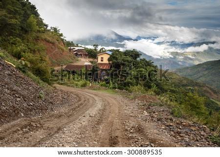 Chin State Mountainous Region, Myanmar (Burma) - stock photo