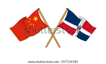 China and Dominican Republic alliance and friendship